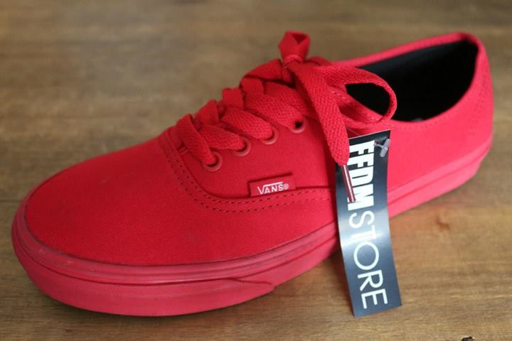 Buy red vans size 9 96d7fa3794